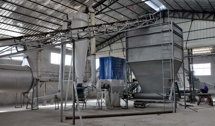 3-6万立方刨花板生产线