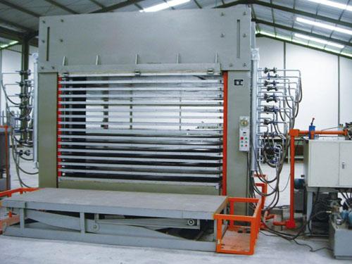 500T组合框架热压机